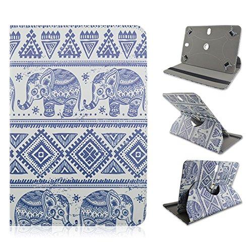 Tribal Elephant Design Blue - Universal 7