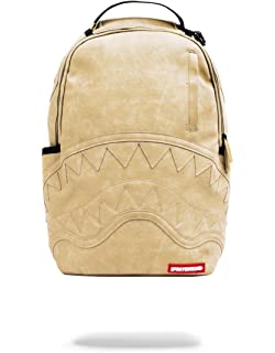 a0f3e1bbcca483 Amazon.com | Sprayground Unisex-Adult Gold Checker Drips Backpack ...