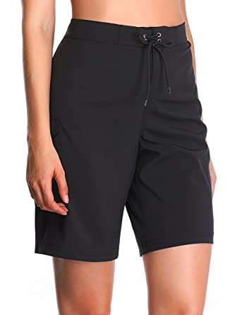5c7a125847 Taylover Womens Long Boardshorts Stretch Swim Boardshorts Quick Dry  Boardshorts Swim
