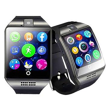 Reloj Inteligente Bluetooth, Reloj Inteligente Smartwatch Con Ranura Para Tarjeta SIM Información Push Inteligente Recordatorio, Detectar El Análisis Del ...