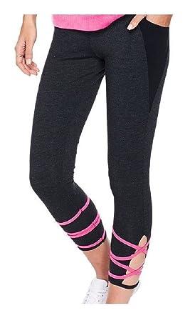 47683666a9223 Victoria's Secret Pink Cotton Strappy High-Waist Ankle Pocket ...