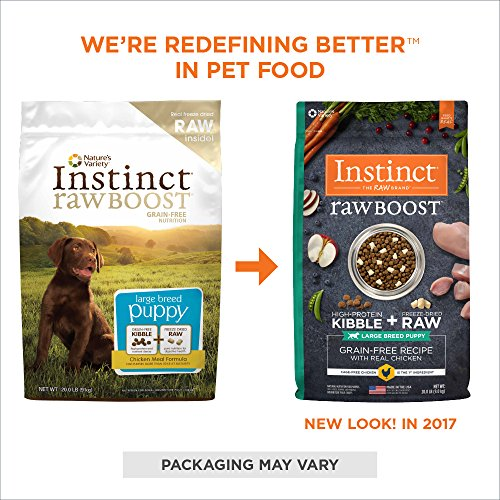 Natures Instinct Raw Boost Senior Chicken Dog Food