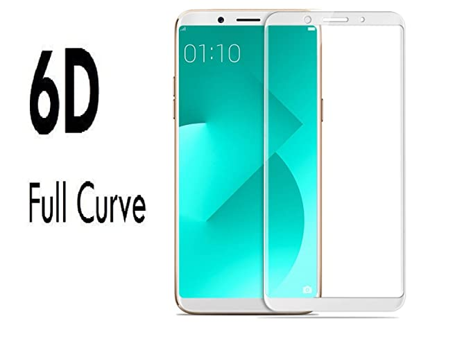 Icod9 6D Tempered Glass for Oppo A83  White  Screen guards