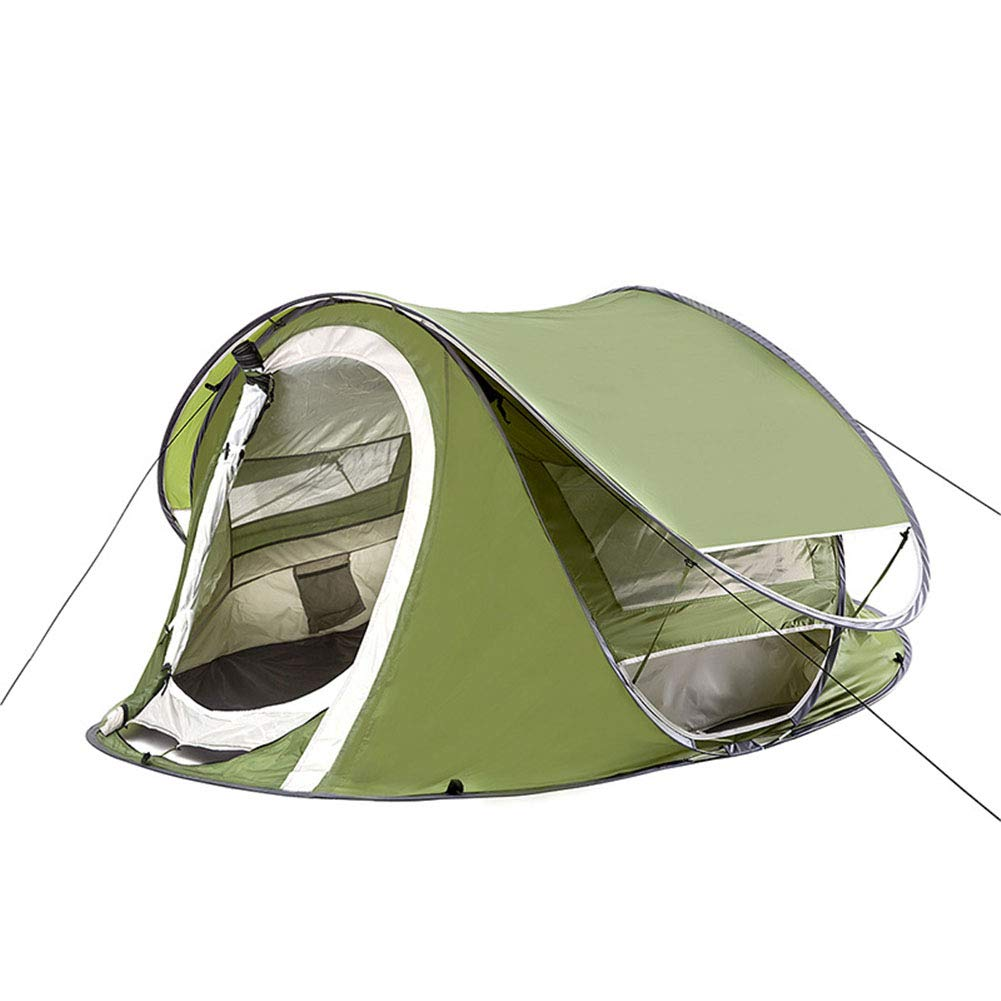 Zelt, Outdoor 3-4Personen Automatic Speed Open Throwing Pop Up Windproof Waterproof Beach Camping Zelt Large Space Large Throw Zents