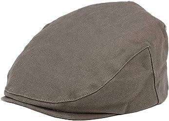 2d83777b Troop London Canvas Flat Cap for Men & Women | Shelby Newsboy Cap for Men &