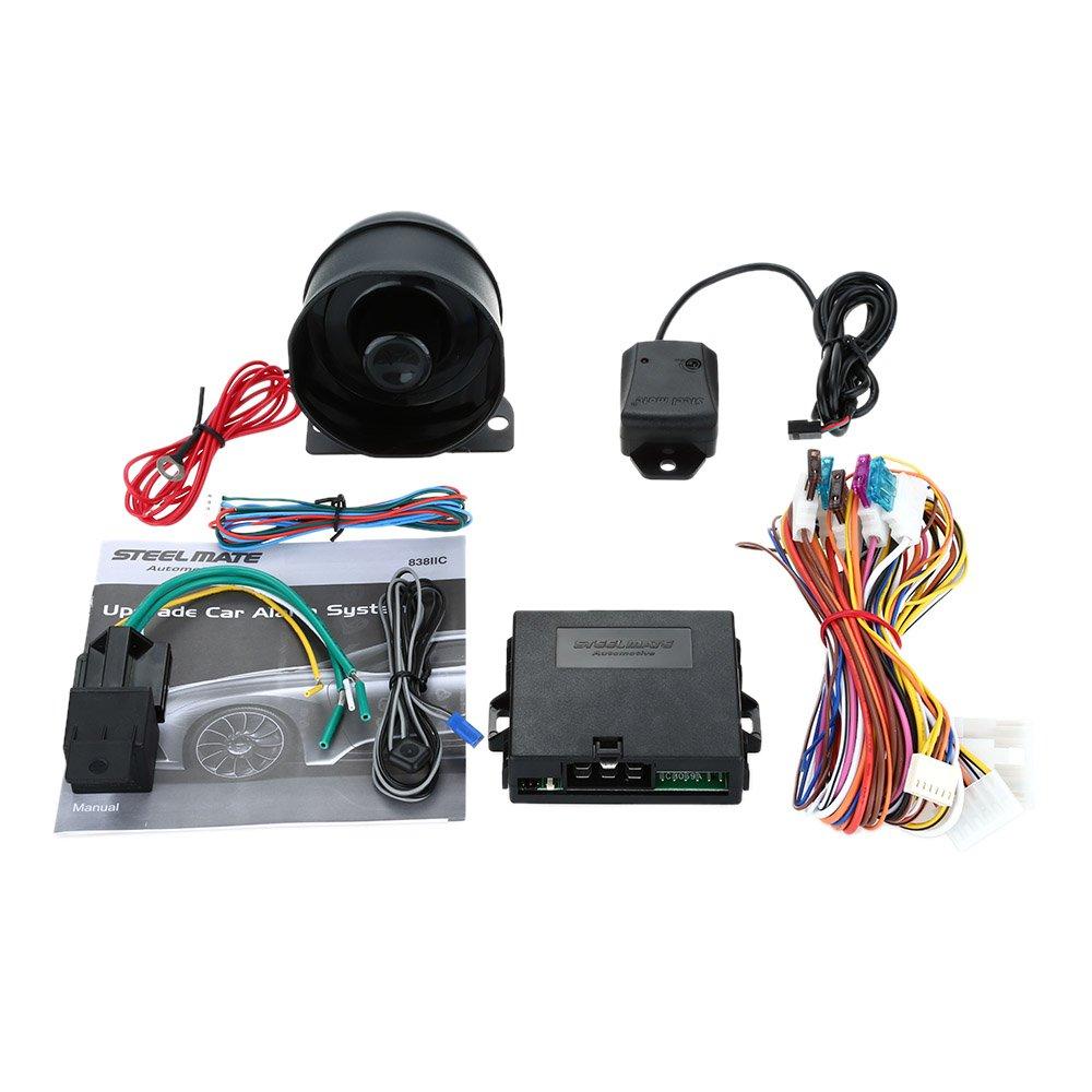 Steelmate 838II C - Sistema de Alarma 1 Vía para Coche ...
