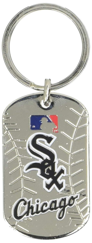 FOCO MLB Unisex Team Dog Tag Keychain