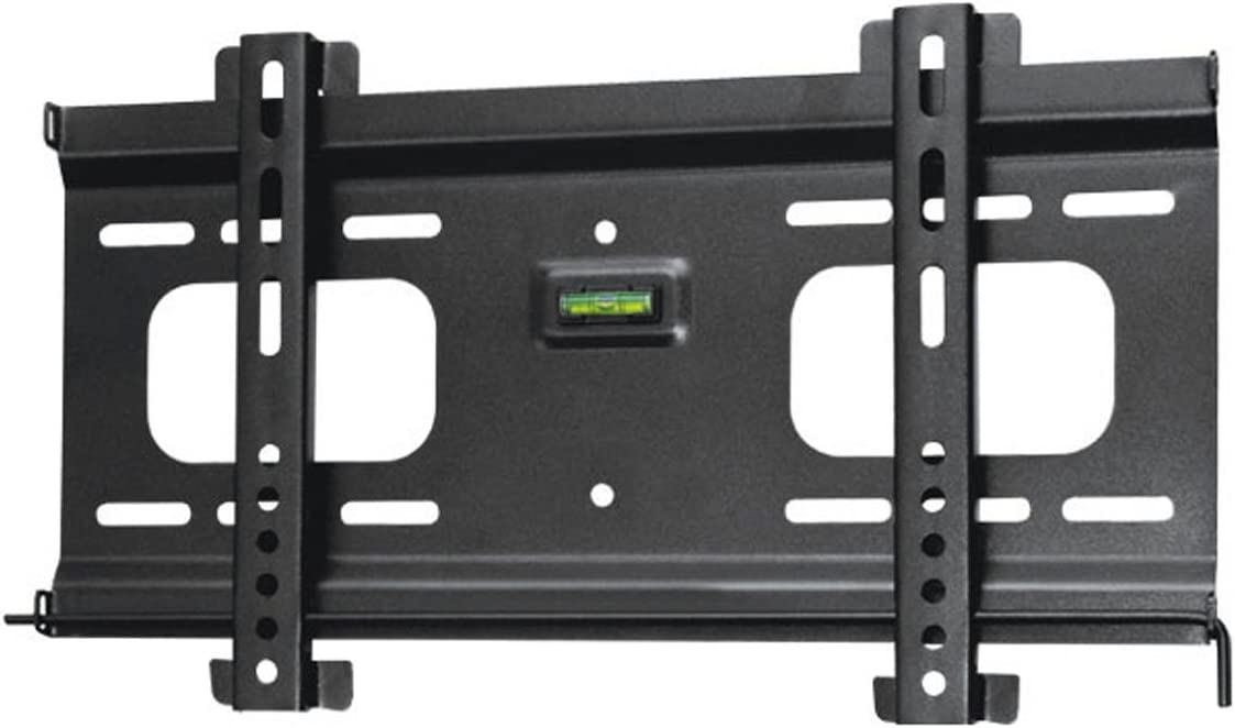 Monoprice Ultra-Slim Fixed TV Wall Mount Bracket – for TVs 32in to 55in Max Weight 165 lbs VESA Patterns Up to 400×200 Security Brackets Works with Concrete Brick