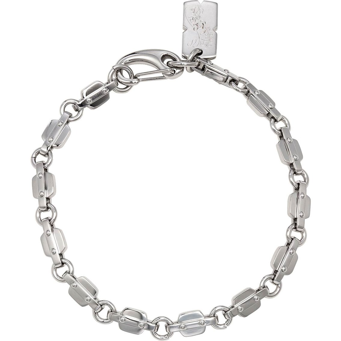 Stainless Steel Tab Neck Chain (Stainless-Steel)