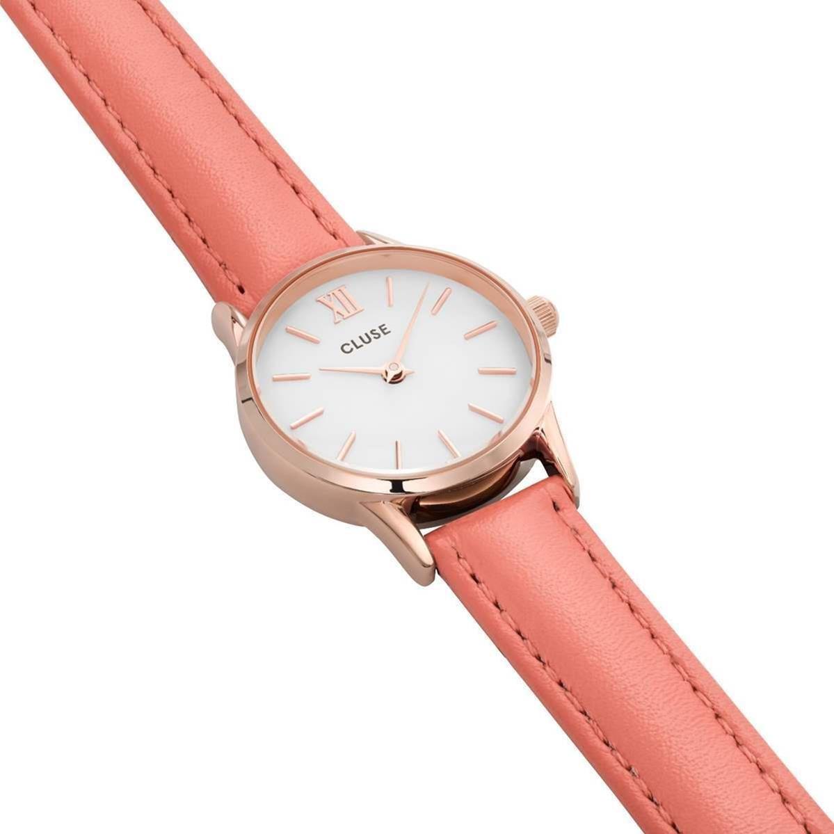 Cluse Reloj Analogico para Mujer de con Correa en Cuero CL50025: Cluse: Amazon.es: Relojes