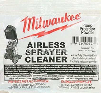 Milwaukee M4910 10 Paint Sprayer Airless Cleaning Powder