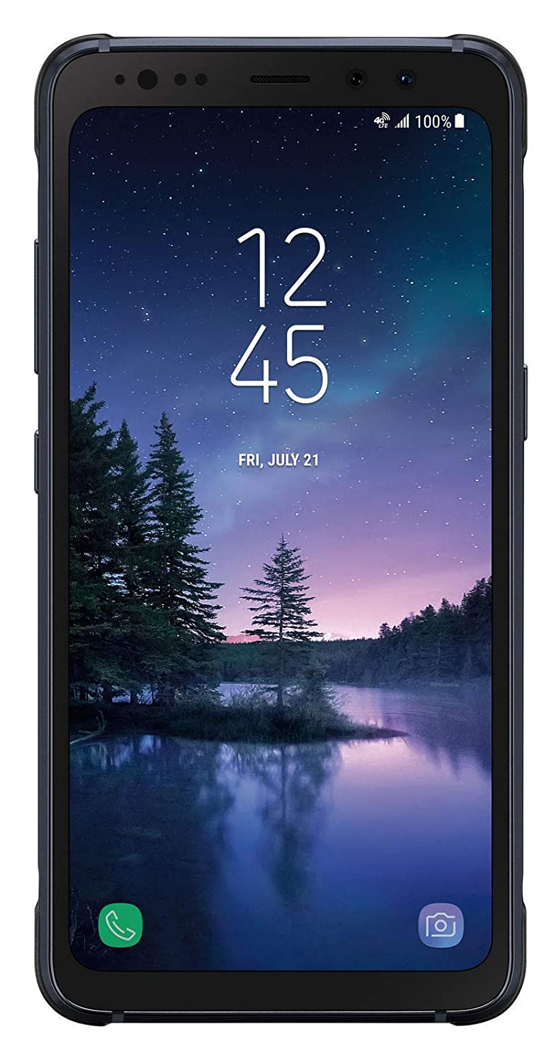 Samsung Galaxy S8 Active (G892A) AT&T Military-Grade Durable Smartphone w/ 5.8