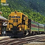 Trains Wall Calendar (2019)