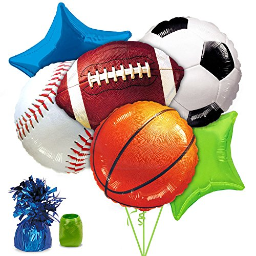 Costume Supercenter BB102233 Sports Party Balloon Kit ()