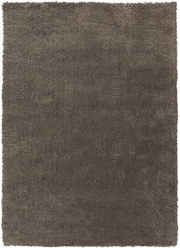Surya Heaven HEA-8002 Shag Hand Woven 100 Polyester Elephant Gray 9 x 13 Area Rug