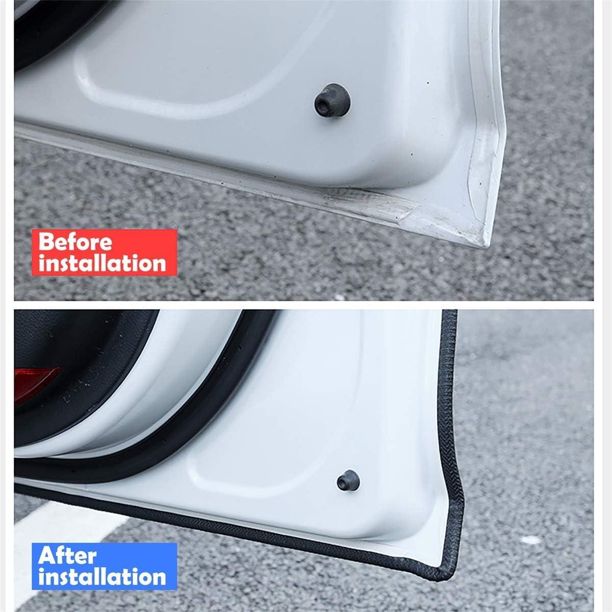 5M protezione per bordi auto YY-LC protezione per bordi in gomma a forma di U guarnizione in gomma per auto protezione per bordi profilo in gomma incluso rinforzo in metallo