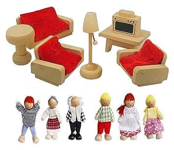 Fantastisch Schönes Aus Holz Spielhaus Spielzeug Wohnzimmer Möbel Modell  Spielzeug Puppen