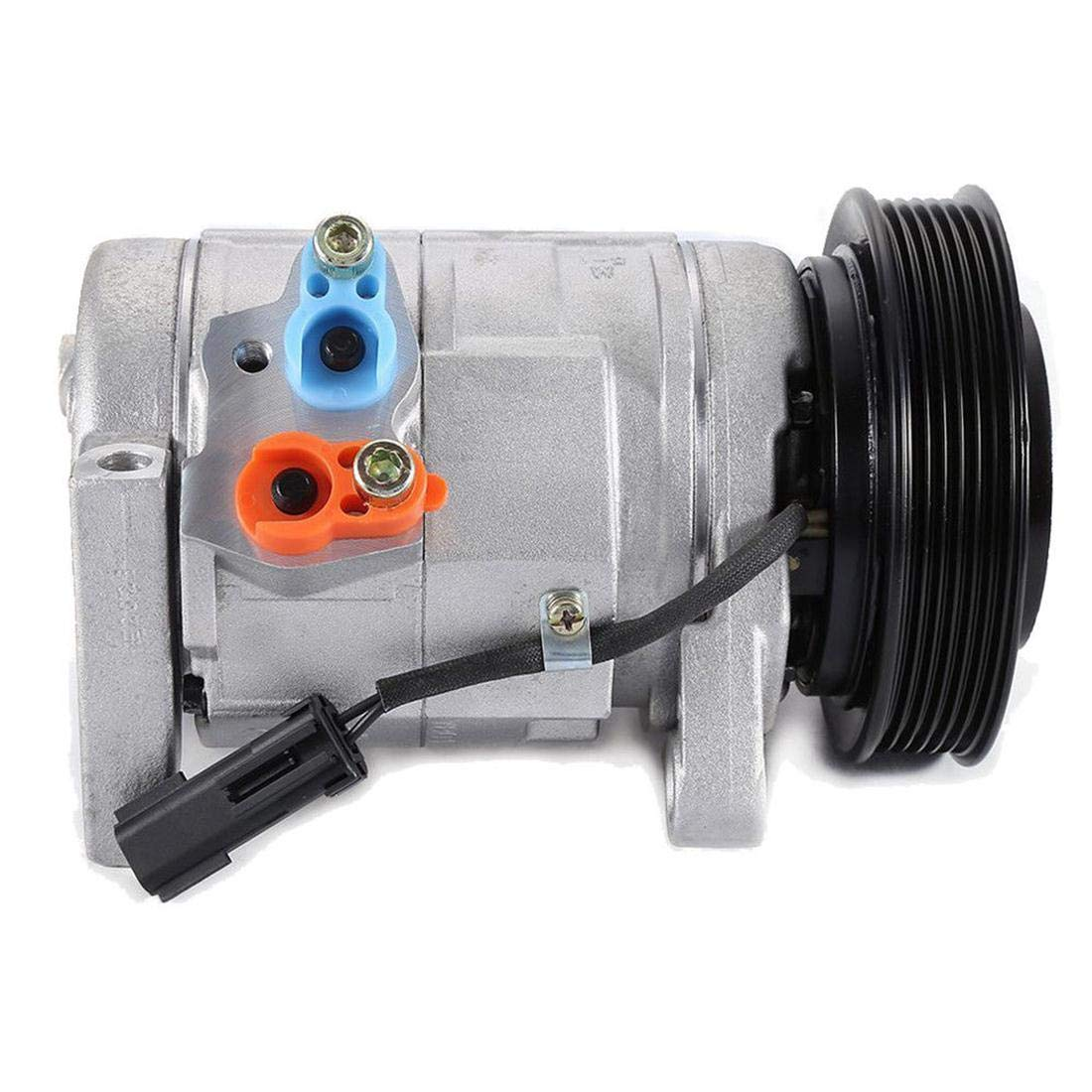 Roadstar 5005441AD Air Conditioner A/C Compressor and AC Clutch Fit For 2001-2007 Dodge Grand Caravan/Chrysler Town & Country 3.3L 3.8L V6 29001C