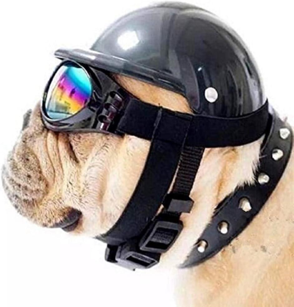 Head Accessories Ridding Cap Headwear puppy hat Pet Protection Helmet Motorcycle Bike Hat Pet Safety Ridding Cap Dog Hats Pet Helmet