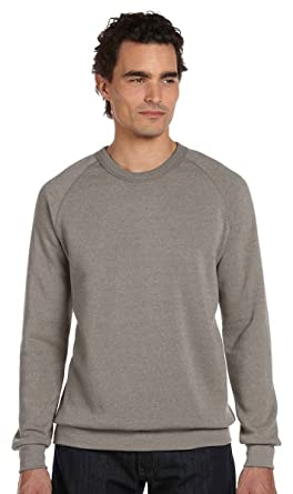 0d24527a613f Alternative Apparel Men s Champ Eco Fleece Sweatshirt at Amazon Men s  Clothing store