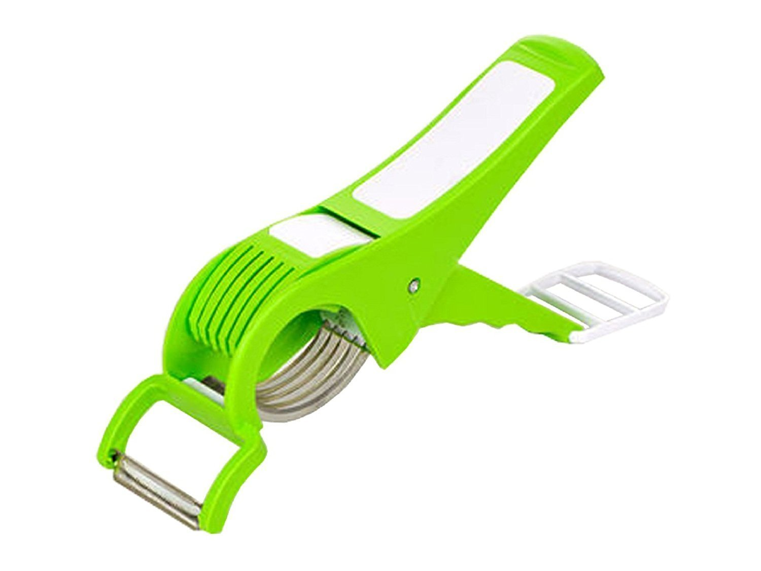 G&D Multi Cutter With Peeler For Vegetable And Fruit,Food Cutter,Carrot Cutter, Extra Sharp Stainless Steel,Vegetable slicer-Dicer cutter GD