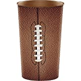 Creative Converting 20-Count Plastic Cups, 22-Ounce, Football