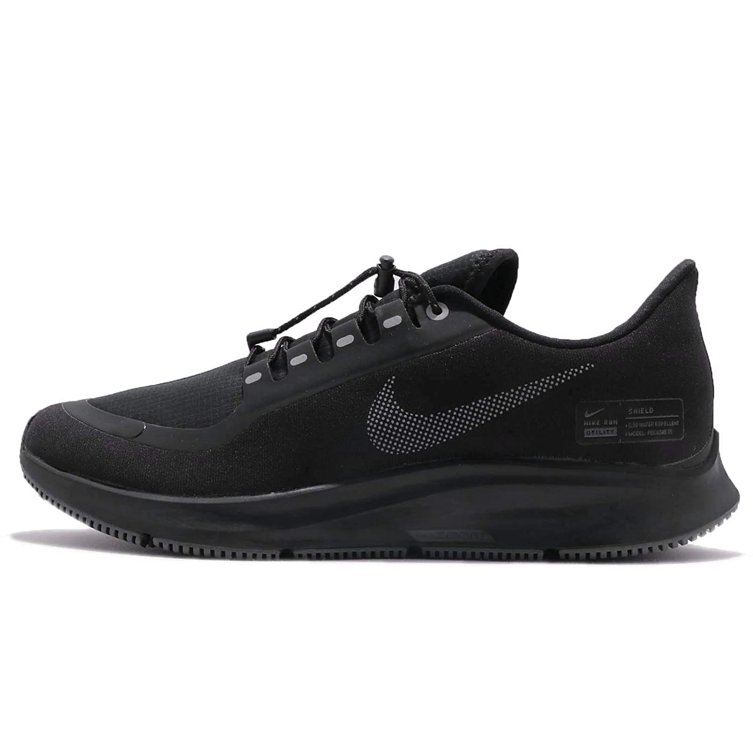 Nike Air Zoom Pegasus 35 Shield Men's Running Shoe Black/Anthracite-Anthracite-Dark Grey 14.0