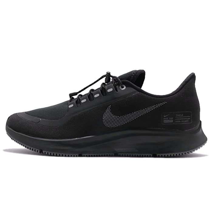 new product ad792 b9e2c Nike Air Zoom Pegasus 35 Shield Men's Running Shoe  Black/Anthracite-Anthracite-Dark Grey 14.0