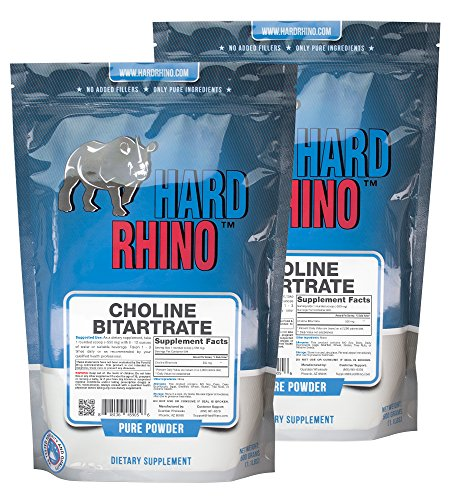 Hard Rhino Choline Bitartrate Powder.