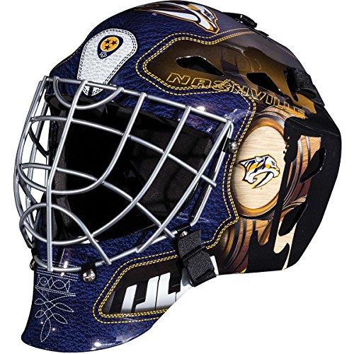 Franklin Sports NHL Nashville Predators GFM 1500 Goalie Face Mask