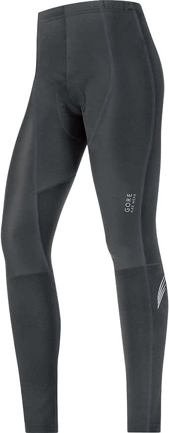 GORE BIKE WEAR Women's  lady WINDSTOPPER Soft Shell Tights+, Black, Small