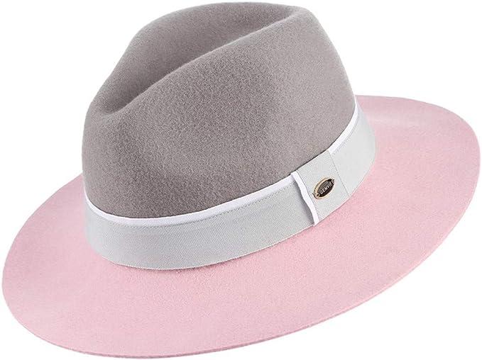 Women/'s Wool Felt Hat White