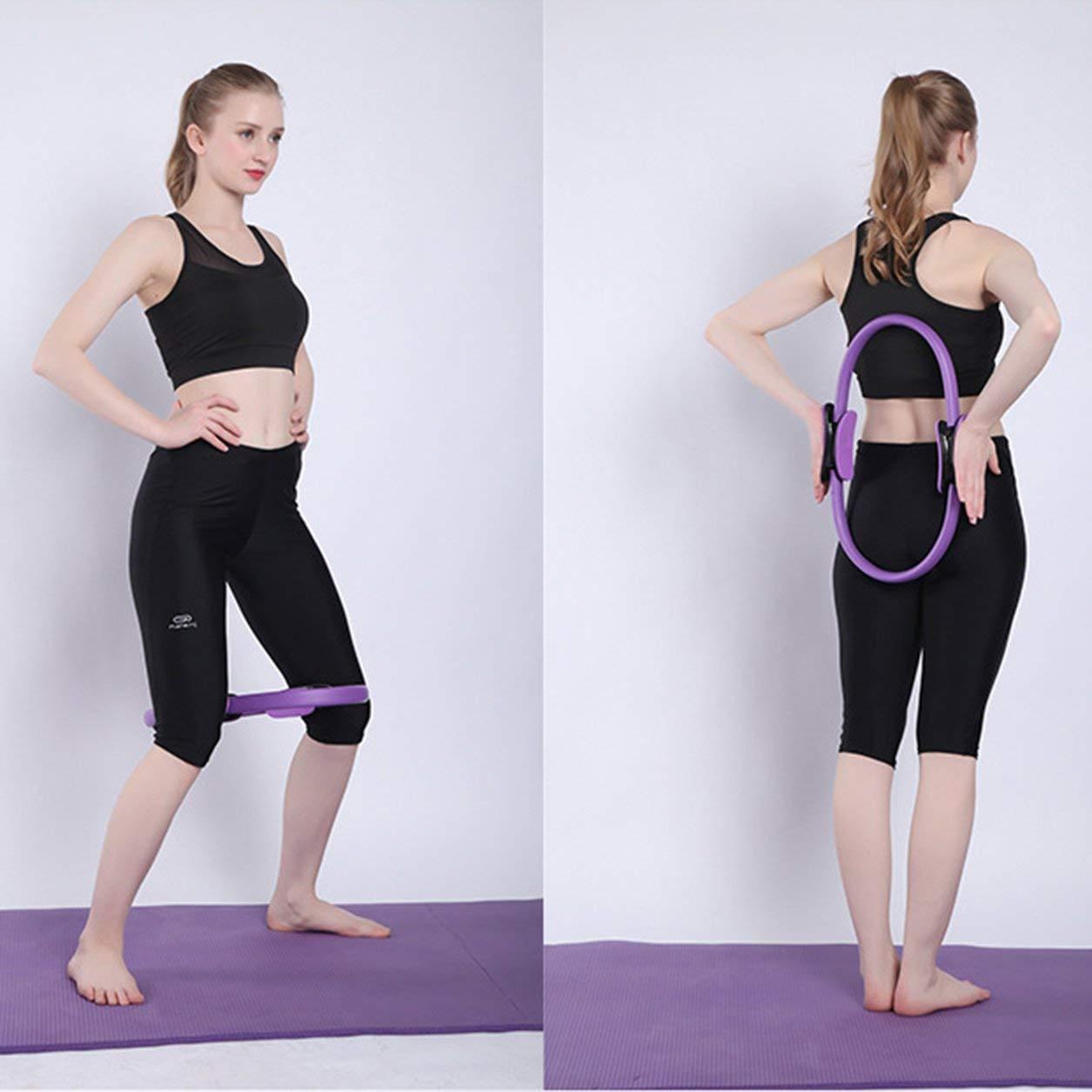 Dailyinshop Professionista Fitness Magia Wrap Yoga Pilates Anello Dimagrante Corpo Building Formazione Yoga Strumento Cerchio Allenamento di Ginnastica di addestramento