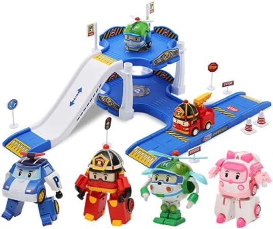Yingjianjun Robot deformado de Camiones de Bomberos, Modelo de Juguete: Regalo de Juguete de Habilidad Manual para niños y niños (Style : 2): Amazon.es: Hogar