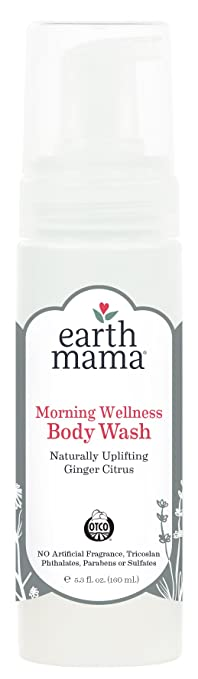 Earth Mama Morning Wellness Body Wash