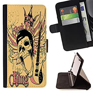 Dragon Case - FOR Samsung Galaxy S3 MINI 8190 - myself becomes the faint flowe - Caja de la carpeta del caso en folio de cuero del tir¨®n de la cubierta protectora Shell
