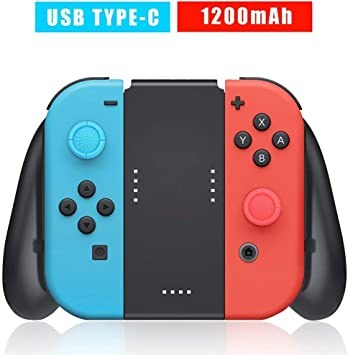 Soporte de Carga para Nintendo Switch Joy-Con, Confort Grip Carga ...