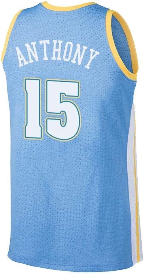 CCKWX Denver Nuggets # 15 Carmelo Anthony Baloncesto Vintage ...