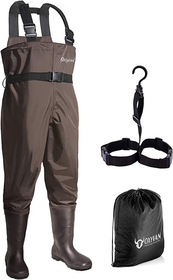 Best Fishing Waders : OXYVAN Waders Waterproof Lightweight Fishing Waders