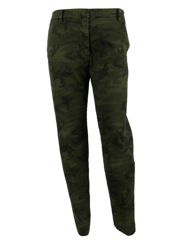 Mason's Womens Camouflage Four Pocket Chino Pants