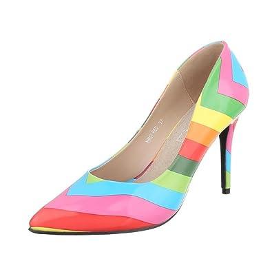 Cingant Woman Damen Pumps/Stilettoabsatz/High Heels/Damenschuhe/Elegante Schuhe/Pink, EU 36
