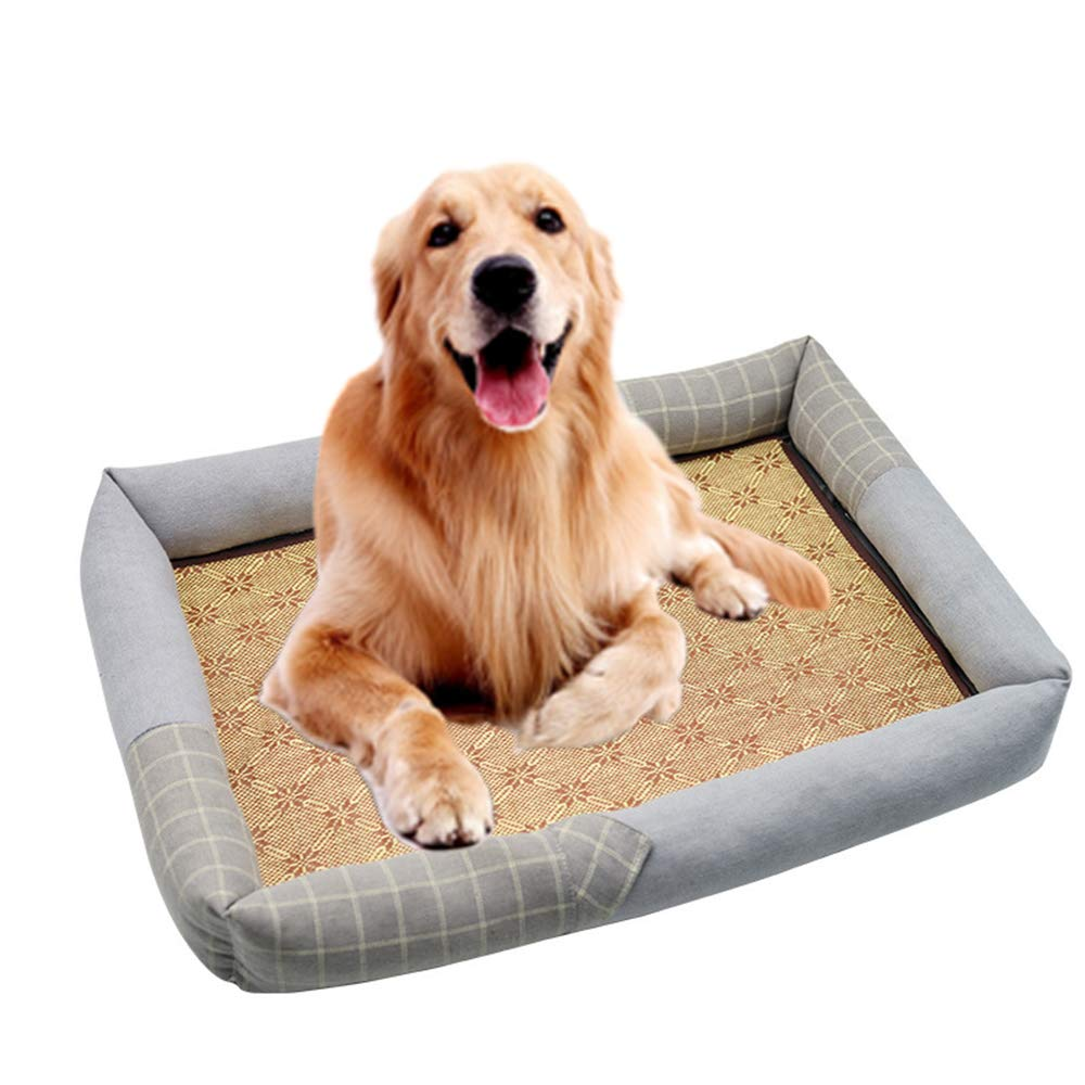 Amazon.com: ZDJR Dog Bed, Water-Resistant Oxford Fabric Dog ...