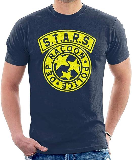 Resident Evil Stars - Camiseta para hombre con logo de policía: Amazon.es: Ropa y accesorios