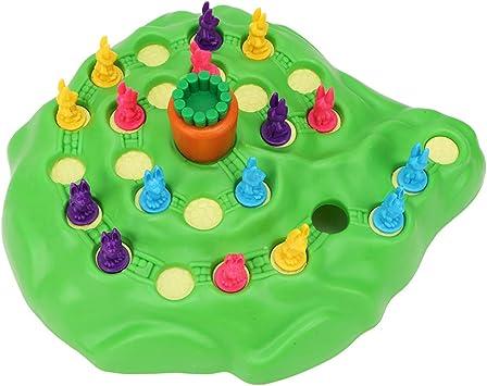 Conejo en Forma de Juego de Mesa Juguete Trampa para Conejos Fiesta de Juguete Interactivo Inteligente para niños Mayores de 3 años: Amazon.es: Juguetes y juegos
