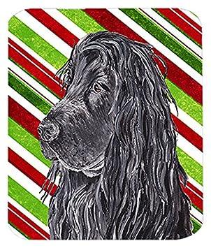 Caroline tesoros del Inglés Cocker Spaniel bastón de caramelo de la Navidad ratón Pad/caliente/salvamanteles (sc9611mp): Amazon.es: Oficina y papelería