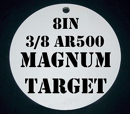AR500 Steel Target-Steel Shooting Target-Steel Pistol Target-1pc 8 Inch Dia