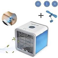 LasVogos Arctic Air Persönlicher Raumkühler Mini-Klimaanlagen-Ventilator