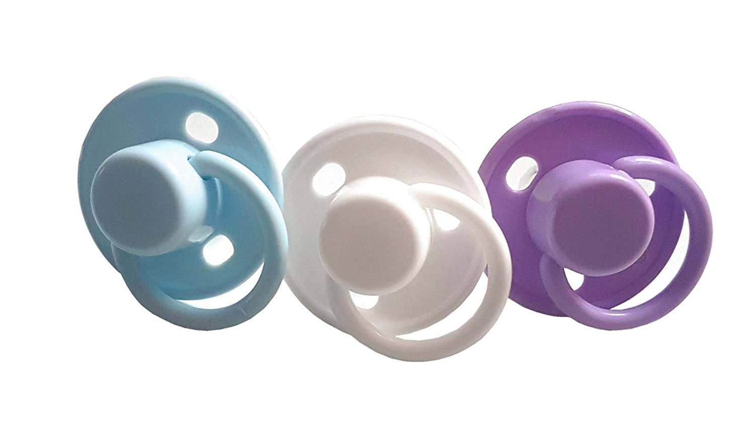 Sure Baby - Silicone Cherry Soothers Dummies Pacifiers (White) Sure Health and Beauty