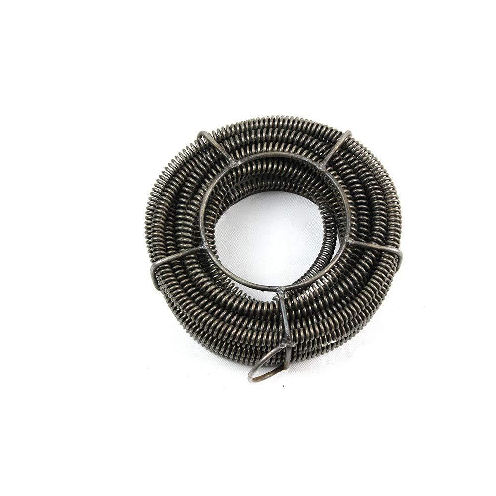 16 mm Dispositivo de limpieza de tuber/ías juego de limpieza en espiral de tuber/ías con espirales