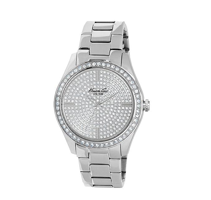 Kenneth Cole Reloj Analógico para Mujer de Automático con Correa en Acero Inoxidable KC4959
